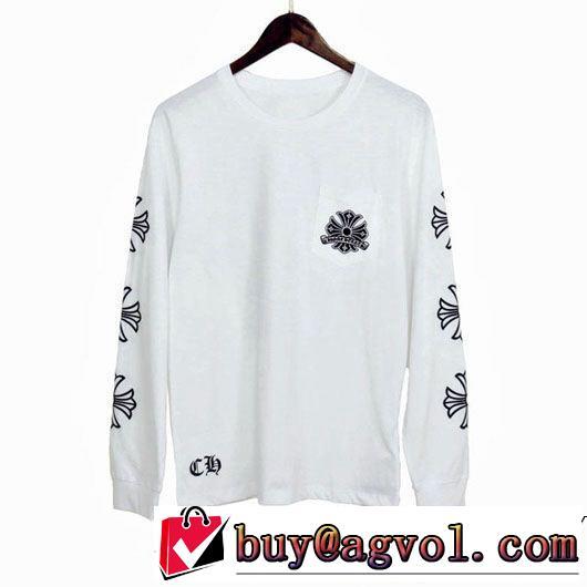 2019春夏人気モデル 2色可選 chrome hearts 国内では即完売するほどの大ヒットクロムハーツ 長袖tシャツ