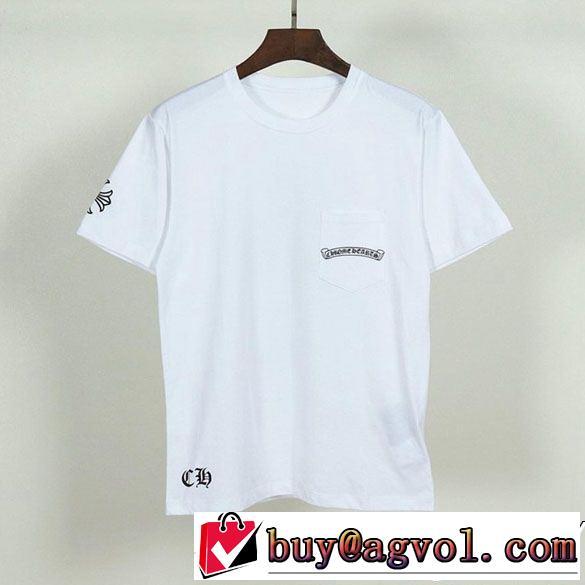 最高の2019年にしようよクロムハーツ 半袖tシャツ 2色可選春夏期間大活躍chrome hearts