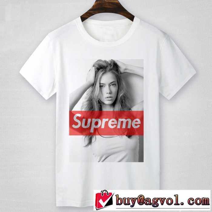 スタイリッシュな印象  2016 SUPREME シュプリーム 半袖Tシャツ 2色可選 男女兼用