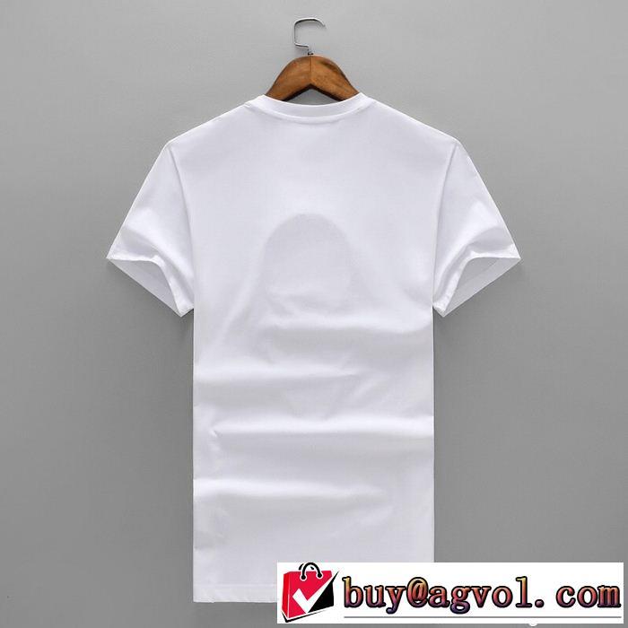 コピー 商品 通販_トレンド感のあるFENDIフェンディメンズFY0682 O9K 丸首Tシャツクルーネック半袖Tシャツ
