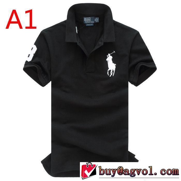 品質感ポロ ラルフローレン 半袖tシャツ多色可選在庫売りつくし polo ralph lauren