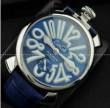 夜光効果があるGaGaMILANO ガガミラノ 2針 機械式腕時計.