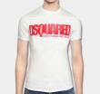 人気定番アイテム DSQUARED2 ディースクエアード メンズ 半袖Tシャツ ホワイト 万能コーデ.