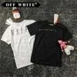 肌触りの気持ちい? 2017 オフホワイト OFF-WHITE 半袖Tシャツ 2色可選