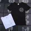 人気セールHOT CHROME HEARTS 半袖Tシャツ クロムハーツ トップス 男女兼用 インナー 2色可選