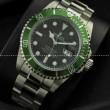 ROLEX メンズ腕時計 ロレックス ウォッチ グリーンサブマリーナ デイト  16610LV