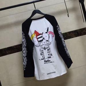 2017秋冬 数量限定送料無料 クロムハーツ CHROME HEARTS 人気販売中 長袖Tシャツ