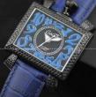 超目玉GaGa Milanoガガミラノ腕時計コピー ブルー レザーベルト ガガ腕時計コピー 日本産ウォッチクオーツ時計!