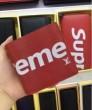 2017新入荷SUPREME LOUIS VUITTON M67717 ルイヴィトン×シュプリーム ポルトフォイユ・スレンダー 二つ折り財布コピー 短財布 赤色 ブラック