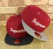 シュプリーム ボックス キャップ SUPREME コットン 帽子 グレー、ブラック2色可選 男女兼用.