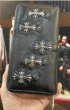 今季大人気SALEクロムハーツ 財布 偽物レザー 大容量復古感溢れる メンズ 長財布ギフトやプレゼント