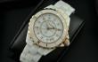 今季100%新品 ブランド コピー 腕時計 コピースーパー コピー J12 H2181 White Ceramic Unisex Watchホワイト セラミック カップル&女性用クオーツWatch