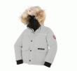 今季限定セールセール 秋冬 カナダグース偽物 CANADA GOOSE 子供用ダウンジャケット 帽子付きコート フード付きジャケット厚綿 おすすめ