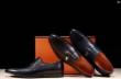 2018最新入荷HERMES エルメス 靴 コピー ビジネス シューズ レザー革 エルメス コピー 高品質 父親&彼氏プレゼント通勤用 3色可選