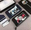 定番人気激安 ジップアラウンド財布 数量限定大特価 プラダPRADA  2色可選 個性的な美品