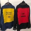 2018-19AW流行り バレンシアガ コピー ジャケット メンズ BALENCIAGA人気 定番 Gジャン イエロー 赤色 デニム