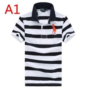 ポロ ラルフローレン 3色可選半袖Tシャツ有名人愛用 Polo Ralph Lauren 収縮性のある