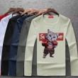 【最新秋冬ファッション】 最前線2018 定番 ファッション  シュプリーム SUPREME 多色可選 長袖 Tシャツ