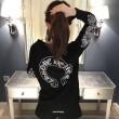 大人のオシャレに 長袖Tシャツ 定番 ファッション  CHROME HEARTS クロムハーツ 大人気アイテム