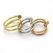 今季人気新作登場 3色可選 カルティエ CARTIER 人気ランキング 指輪 手頃価格でオシャレ