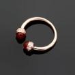 人気アイテムが勢ぞろい 【ファッション新品注目】 BVLGARI ブルガリ 指輪 4色可選 冬季流行り