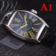 驚きの破格値本物保証男性用軽量腕時計肌にも優しい素材日付曜日つきシンプルウォッチフランクミュラー コピー
