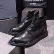 お買い得大人気メンズデザイン性機能性ファッションスニーカープラダ 靴 コピー完成度の高いスポーツ靴ブラックブラウン