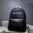 お得限定セール通気性オシャレかっこいいブラックバレンシアガバッグ 偽物耐摩耗性荷物用ベルト付きバックパック