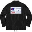 3色可選 Supreme Champion Label Coaches Jacket SUPREME シュプリーム 秋のお出かけに最適 最前線2018