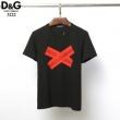 DOLCE&GABBANA ドルガバ 19SS D&G ロゴ 半袖 Tシャツ *ネイビー41756418ドルガバ コピー定番デザイン着まわし力の高い