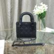 驚きの破格値送料無料高級素材レディースカバンブラックDIORディオール 偽物定番シルエット幅広いハンドバッグ