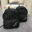 プラダ バッグ 新作PRADA品質保証新作登場傷みにくい構造丈夫さバックバッグ日常使い最適耐摩耗防水加工英字プリント