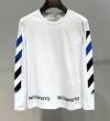 長袖Tシャツ 2色可選 2019年春夏の限定コレクション 春夏シーズン始動 Off-White オフホワイト