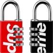 見逃せない注目夏季精品 暗号錠 2色可選 厳選した Supreme 19SS Master Lock Numeric