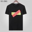 2色可選 夏コーデの主役級 半袖Tシャツ 魅力的な価格でセール ディースクエアード DSQUARED2 夏季新作に狙うファン殺到