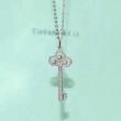大人気コラボ商品 ティファニーコピーネックレス 自信満々な女性イメージを与える Tiffany & Co. 鍵モチーフシンプルなアイテム