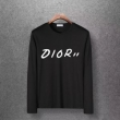 軽やかな気心地も嬉しい Diorスーパーコピー長袖tシャツ フロントにプリントロゴ付き   ディオールコピーメンズ 超人気美品セール中