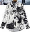 品質保証100%新品 フェンディ コピー特別なプリント トレンド感満載 FENDI 長袖シャツ偽物 街行く人の目線をひとり占め