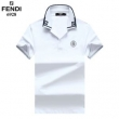 視線を集める今夏新作 フェンディ コピー半袖ポロシャツ 無地デザインカジュアルな風合い FENDI値引き通販 大好評で100%新品保証