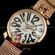 激安美品 GaGa Milano ガガミラノ 腕時計.