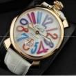 完成度を誇っているGaGaMILANO ガガミラノコピー  2針 機械式夜光効果ある腕時計.
