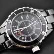 スーパー コピーブランド コピー偽物 腕時計J12 H0682  クオーツ ブラック レディース メンズ ウォッチ デイトカレンダー 時計