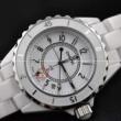 大人気美品スーパー コピーブランド コピー偽物 腕時計J12 H0968 クオーツ ホワイト レディースウォッチ デイトカレンダー 時計