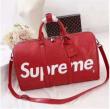 超人気新品SALE! 激安コピーSUPREMEシュプリーム ×Louis Vuitton 17AW Keepall Bag 赤 ボストンバッグ おすすめ