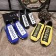 DG新作雑誌掲載!コピー ドルチェ&ガッバーナ Neoprene Sneaker個性 超潮流 ブルー限定発売 夏靴