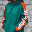 秋季新品HOT低価 シュプリーム コピー パーカー Sideline Hooded Sweatshirtイエロー グリーン 2018お得安い 人気