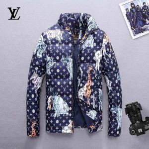 人気アイテムが勢ぞろい  ルイ ヴィトン LOUIS VUITTON  3色可選  ダウンジャケット メンズ 好感度アップ