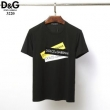 関税込DOLCE&GABBANA ロゴTシャツ コットン 半袖 クルーネック41389189ドルチェ&ガッバーナコピー