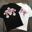 2019年春夏の限定コレクション 今夏人気ブランド クロムハーツ CHROME HEARTS 半袖Tシャツ 2色可選 男女兼用