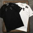 海外の顧客限定先行セール クロムハーツ CHROME HEARTS 半袖Tシャツ 2色可選 男女兼用 2019春夏大人気